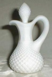 Westmoreland English Hobnail Cruet, Milk