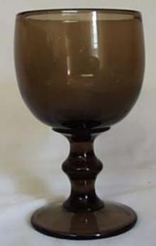 Imperial Hoffman House Water Goblet in Brown