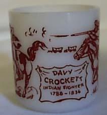 Hazel Atlas Davy Crocket Indian Mug