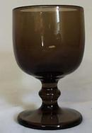 Imperial Hoffman House Wine Goblet in Brown