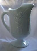 Indiana Glass Pitcher Milk Glass