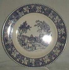 Homer Laughlin Shakespeare Country, Stratwood Dinner Plate