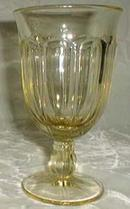 Noritake Provincial Water Goblet, Pale Yellow