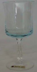 Noritake Remembrance Wine Goblet, Turquoise