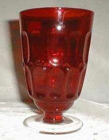Fostoria Mesa Tumbler in Ruby Red, 10 oz.