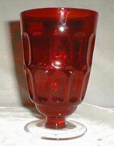 Fostoria Mesa Tumbler in Ruby Red, 10 oz.