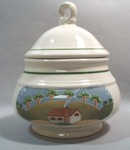 Sangostone Country Cottage Sugar Bowl