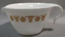 Corning Butterfly Gold Creamer