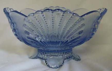Mosser Shell Fruit Dessert Bowl, Willow Blue