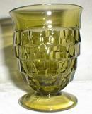 Colony Whitehall Low Water Goblet  in Green