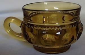 U.S. Glass Tiffin in Kings Crown Coffee Cup