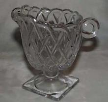 Indiana Glass Pretzel Creamer in Crystal