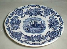 Enoch Wedgwood Royal Homes of Britain Saucer