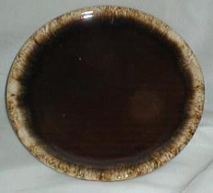 Hull Brown Drip Bread & Butter Plate