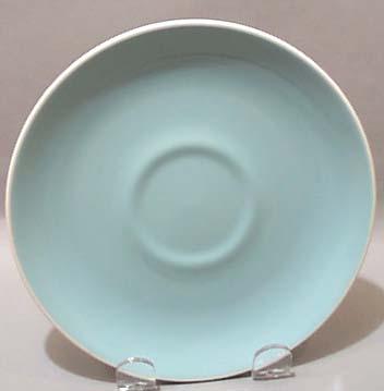 Harkerware Harker Best Pale Blue Saucer