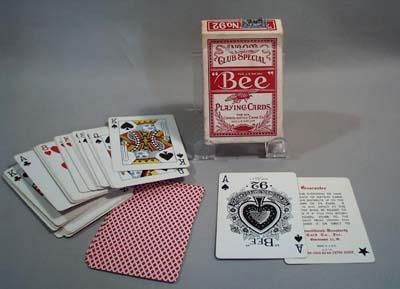 NY Consolidated Card company deck