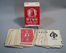 Stud  deck of cards, Red horse