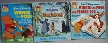 3 books, 1967  and 1974, Winnie the Pooh