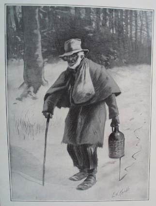 1908 There's Many a Slip Print, Original print