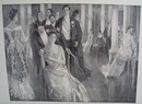 1908 The Cotillion by Howard Chandler Christy original print