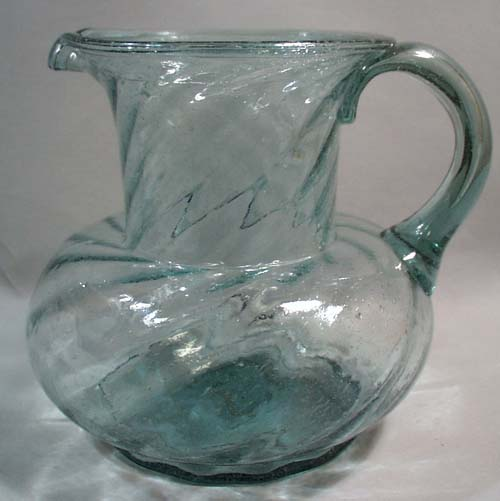 Blenko Williamsburg Reproduction pitcher