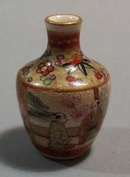 Satsuma mini vase