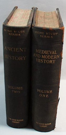 Medieval and Modern History and Ancient History books