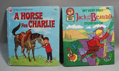 Pr of Childrens books,  A horse for Charlie