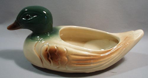 California Pottery Duck