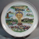 Collectors plate Oklahoma
