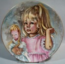 Marian Carlsen 1976 Mothers Day Limoges Plate