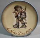 Hummel/Schmid 1972 Mothers Day Plate