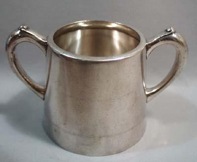 Albert Pick & Company Sheffield Nickel plate sugar bowl