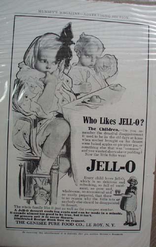 Jell-O Ad Who Likes Jell-O