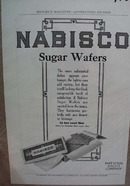 Nabisco Sugar Wafer ad In ten cent tins