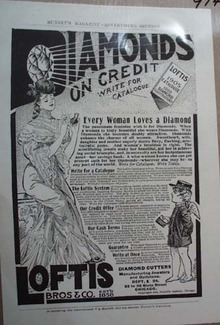 Loftis Bros Co Diamond Ad Every Woman Loves a Diamond