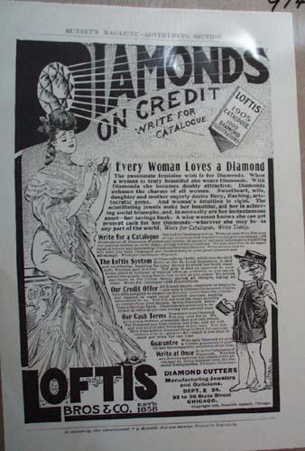 Loftis Bros Co Diamond Ad Every Woman Loves a Diamond