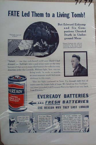 Eveready Battery Ad  Fate Led Them to a Living Tomb