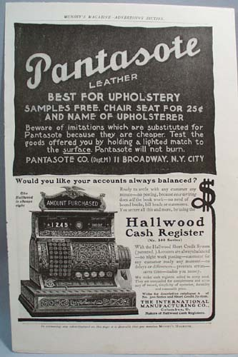 Hallwood Cash Register Ad