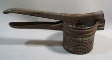 Old battleship gray potato masher