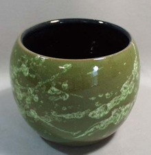 West Germany art pottery planter