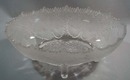 Gillander & Sons Maple leaf early pressed bowl