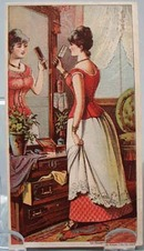 Victorian Trade Card Jackson Corset Co