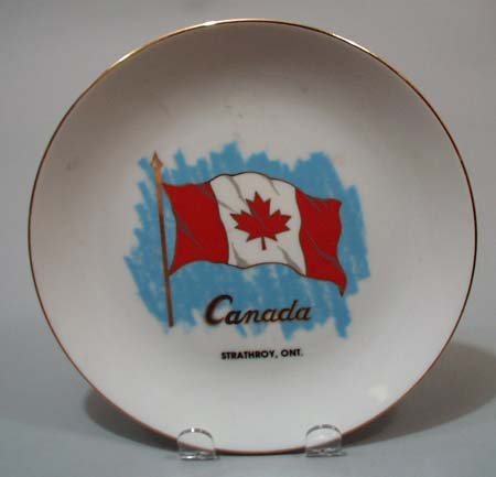 Banawe souvineer plate Strathroy Ont Canada