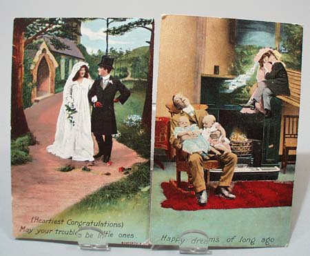 Pr Marriage comedy post cards