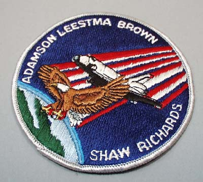 Space Shuttle Columbia patch