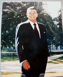 Ronald Reagan Portrait  1974