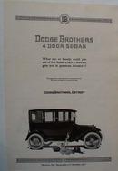 Dodge Brothers Auto 1920 Ad
