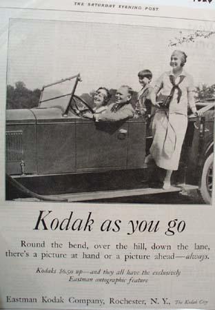 Eastman Kodak Ad 1925