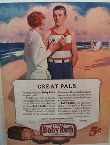 Baby Ruth Great Pals Ad 1927